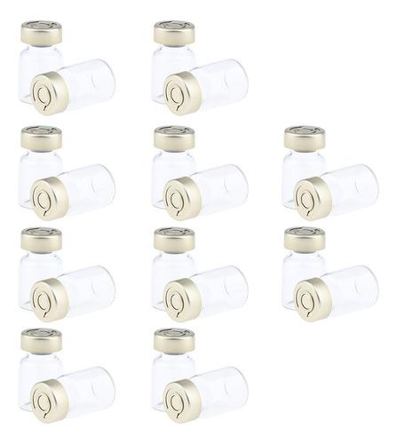 Imagen 1 de 6 de 20 Piezas Mini Botella Estéril Sellado Recipientes En Polvo