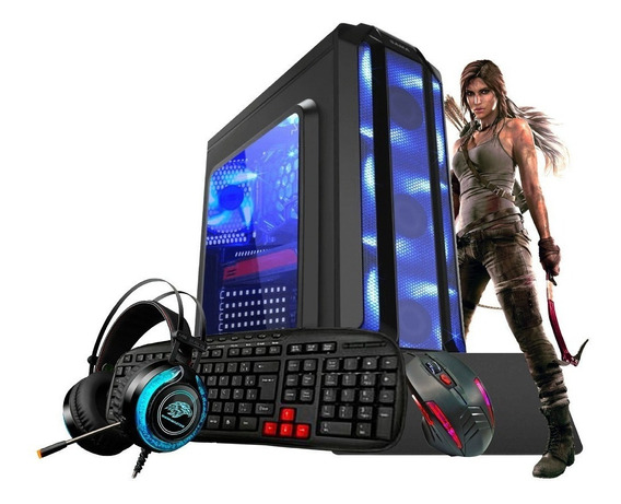 Pc Gamer A8 9600 10núcleos Ddr4 32gb Radeon R7 Kit Gamer