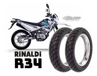 Juego Cubiertas 110 80 18 - 80 90 21 Yamaha Xtz 125