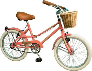 Bicicleta Para Nena Rdo 20 Vintage De Paseo. La Mas Linda