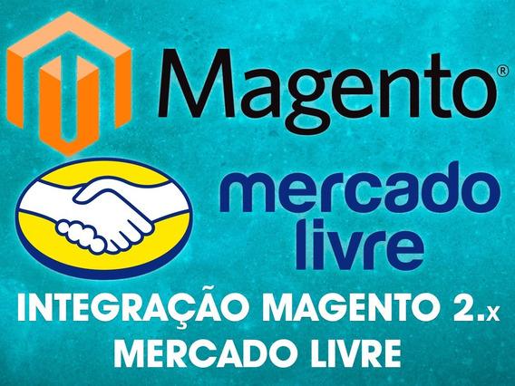 Módulo Integração Magento 2.x E Mercado Livre