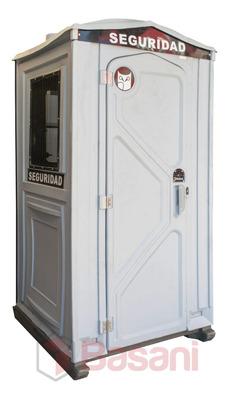 Alquiler Cabina Garita De Seguridad Obra Promoción (mensual)