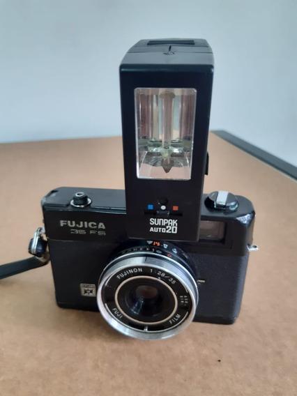 Câmera Fotográfica Analógica Fujica 35fsc - Raridade