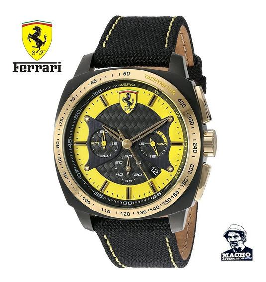 Reloj Ferrari Aero Evo 0830291 En Stock Original Garantía