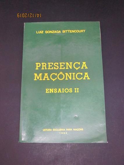 Livro Presença Maçonica Ensaios Ii
