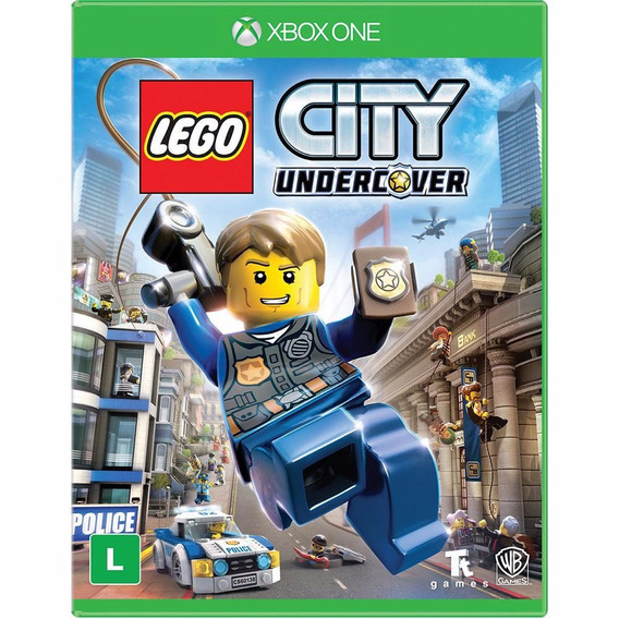 Jogo Lego City Undercover Xbox One Mídia Física