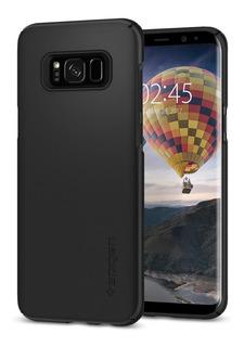 Capa Case Spigen | Samsung Galaxy S8 Plus 6.2 | Thin Fit Black