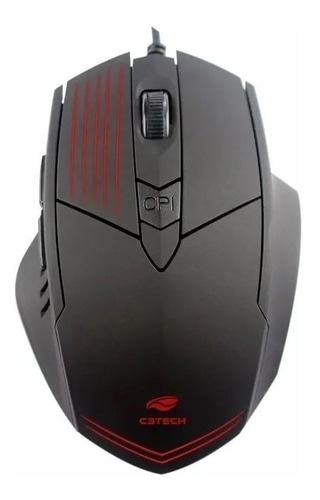 Mouse Optico Gamer C3tech  2400 Dpi Mg-10