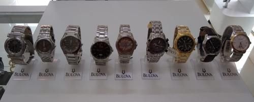 Relógios Bulova Originais Nota Fiscal Garantia