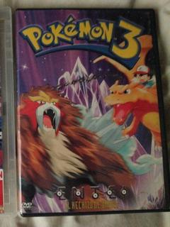 Pokémon 3, Dvd