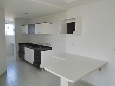 Apartamento No Centro Com 1 Quartos Para Locação, 38 M² - 6259