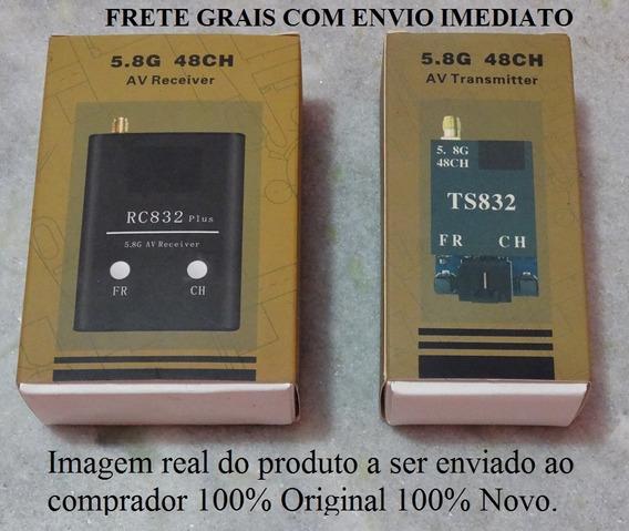 600mw 5.8 Ghz Transmissor E Receptor Ts832 & Rc832 100% Novo