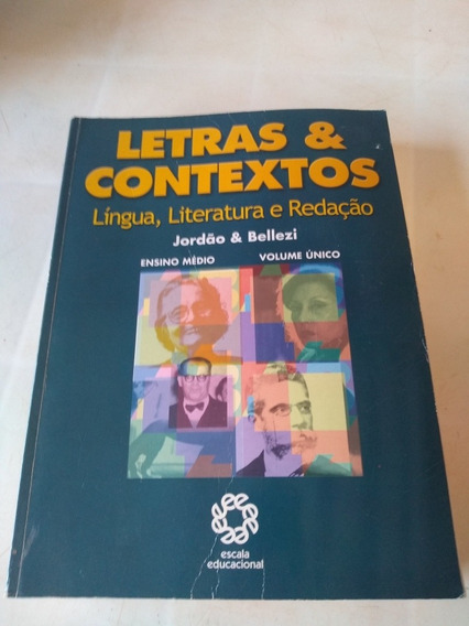 Letras E Contextos Língua Literatura E Redação