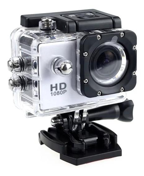 Camera Fullhd 1080p Action Cam Go Sport Pro Capacete Moto