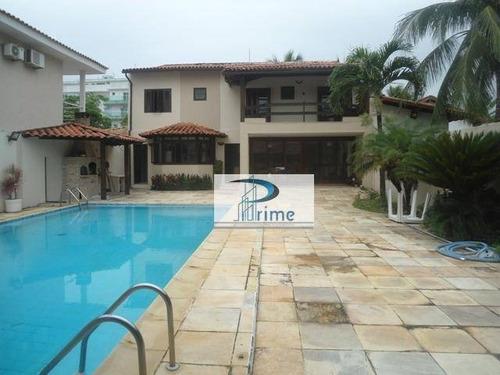 Casa Com 3 Dormitórios À Venda, 220 M² Por R$ 1.800.000,00 - Piratininga - Niterói/rj - Ca0453