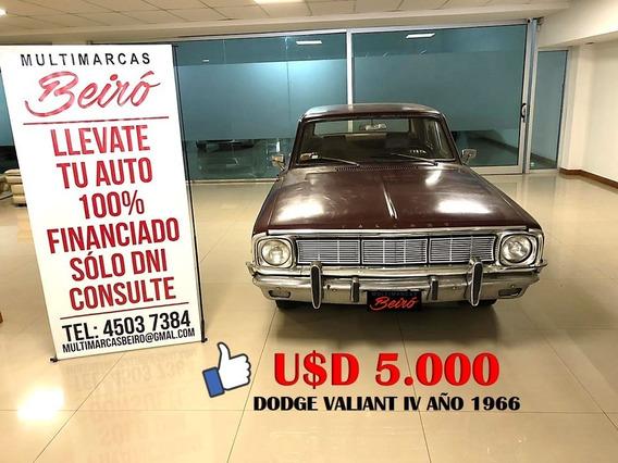 Dodge Valiant Iv Año 1966