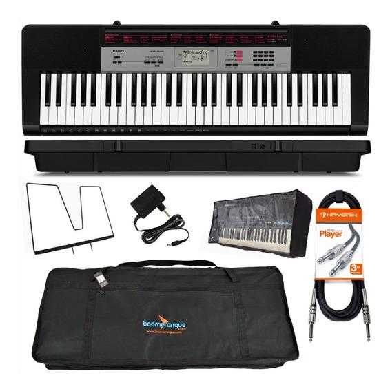 Kit Teclado Digital Musical 61 Ctk-1500 Casio Acessórios