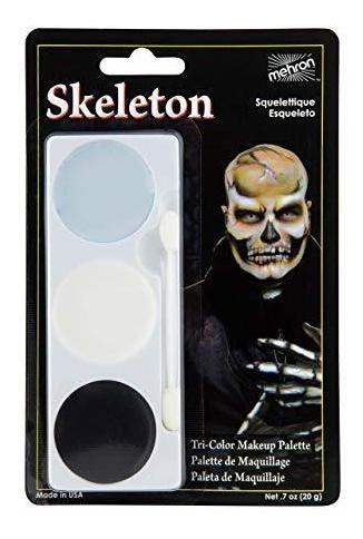 Mehron Makeup Paleta De Maquillaje Tricolor De Halloween