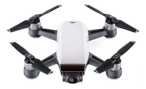 Mini drone DJI Spark Fly More Combo com câmera Full HD white