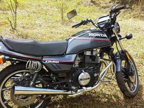 Honda Cb 450 Dx Raridade!