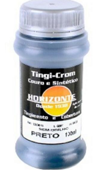 Tinta Couro E Sintetico Geral 100 Ml Semi Brilho 24 Cores