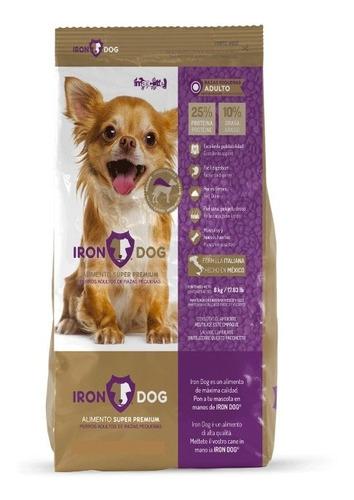 Imagen 1 de 2 de Iron Dog Súper Premium Para Perro Adulto Raza Peq De 8 Kg