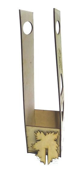 Recuerdos Caja Porta Vino Mdf, Modelo: 015 Set 1 Pzs