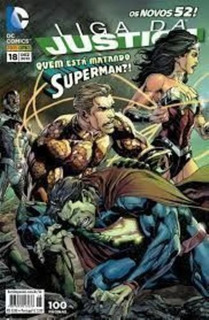 Os Novos 52! Liga Da Justiça Nº 18 - Quem Está Matando Su...