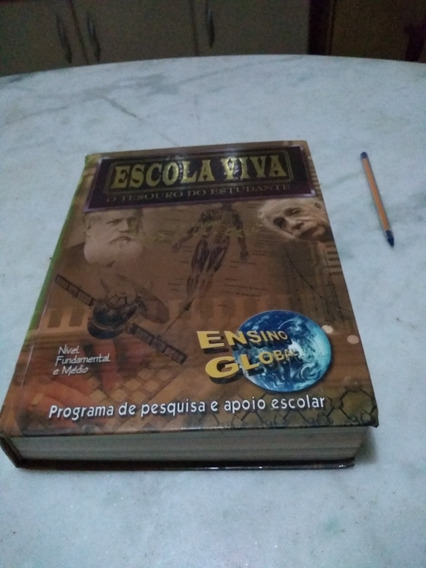 Escola Viva O Tesouro Do Estudante Edição Comemorativa 2004