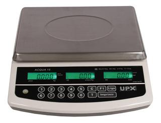 Balança Para Sorveteria 15kg Acqua Premium Upx Com Inmetro