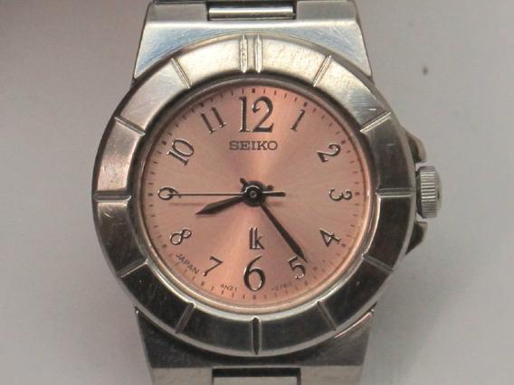 Relógio Quartz Feminino, Ik Blue, Da Seiko Watch, Japan.