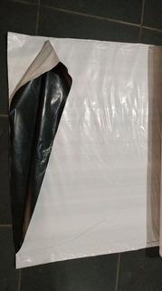Lona Dupla Face Preta E Branca 200 Micras 12x15 - Reforçada