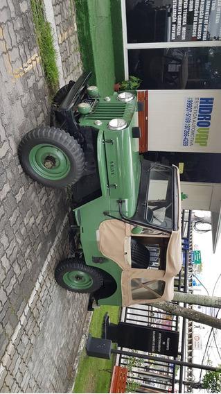 Jeep Willys Placa Preta - Sem Detalhes
