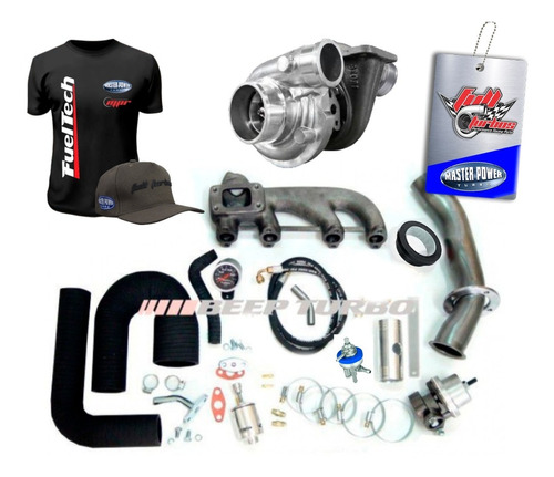 Kit Turbo Vw - Ap Mi Ar Dir + Turbina Master Power R4449