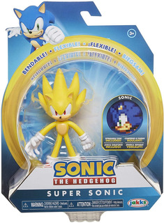 Sonic The Hedgehog Collectible Super Sonic 10cm