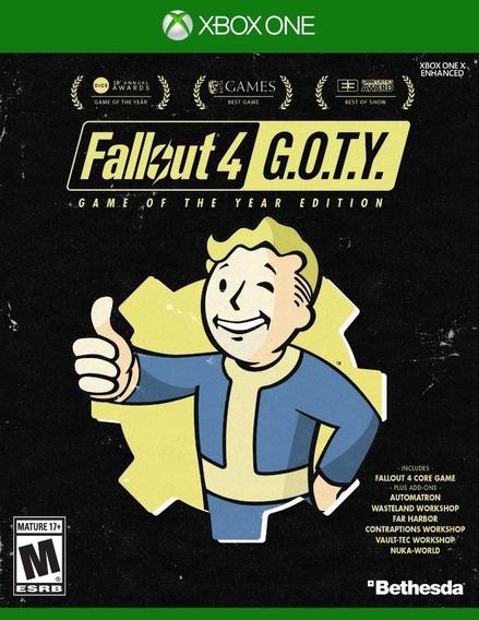 Fallout 4 Goty Edition Xbox One Mídia Física Novo Lacrado