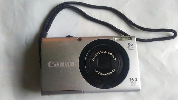 Cámara Canon Powershot A2500 16 Mp