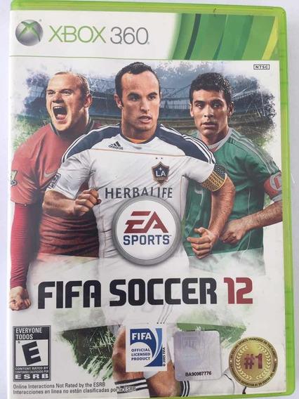Jogo Fifa Soccer 12 Usado Para Xbox 360