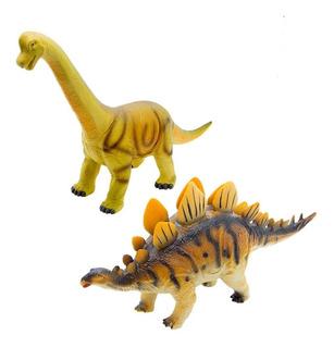 Dinosaurio De Goma Soft Grande 50cm Funny Land Cresko