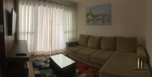 Imagem 1 de 10 de Apartamento Com 3 Dormitórios À Venda, 92 M² Por R$ 580.000,00 - Jardim Aquarius - São José Dos Campos/sp - Ap0094