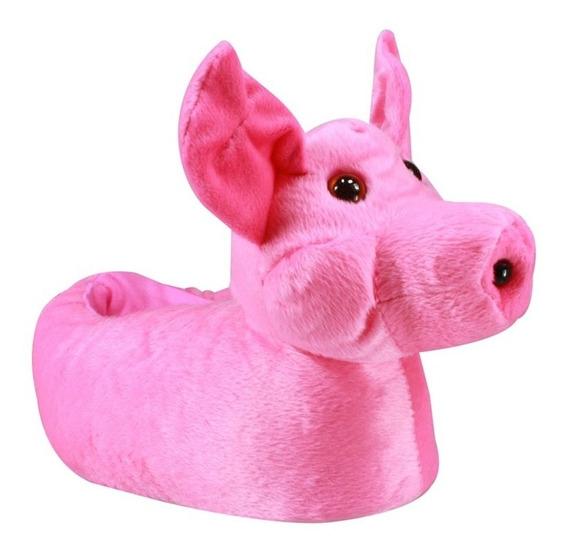 Pantufa Infantil Du Rei Porquinho 130 | Katy Calçados