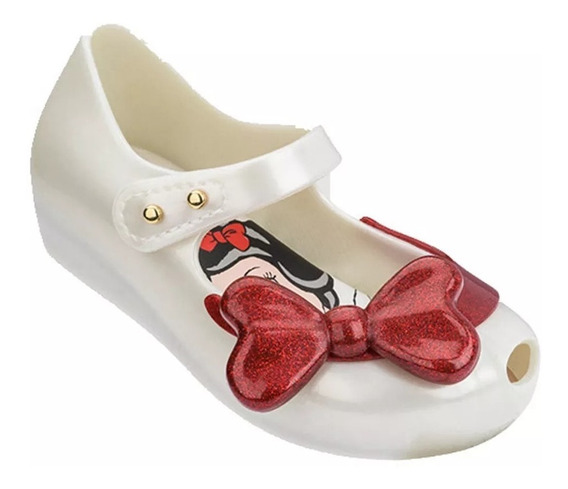 Zapato Niña Mini Melissa 2019 Blanca Nieves 13 A 18 Cm