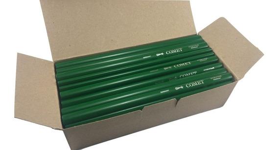 Lapiz Carpintero Comet Aleman Verde 24 Cms X 72 Unidades