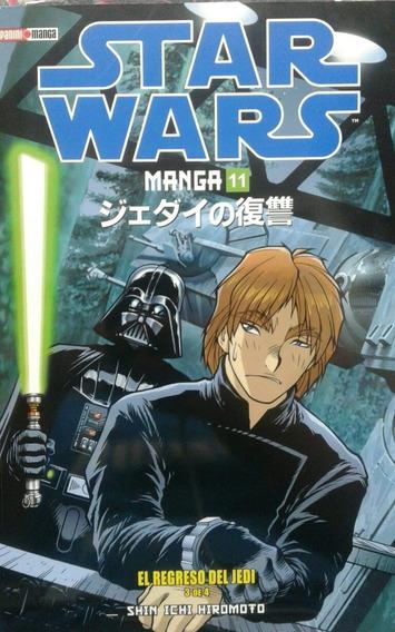 Star Wars Manga 11 El Regreso Del Jedi 3 De 4