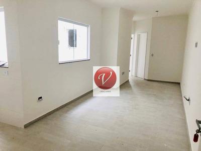 Apartamento Com 2 Dormitórios À Venda, 50 M² Por R$ 269.000 - Vila Pires - Santo André/sp - Ap9251