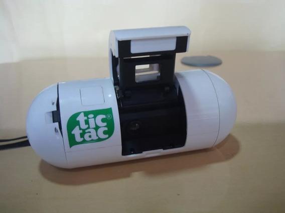 Maquina Fotografica Tic Tac - Fabric Mgb Indl Co - Anos 80 R