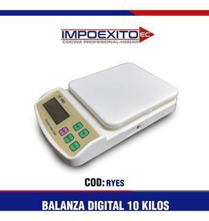 Balanza Digital 10 Kilos Impoexito