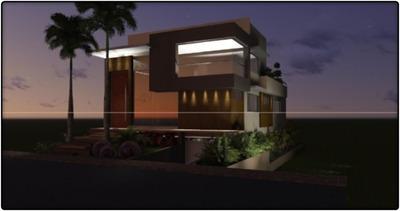 Casa Em Plano Diretor Sul, Palmas/to De 518m² 4 Quartos À Venda Por R$ 3.000.000,00 - Ca95619
