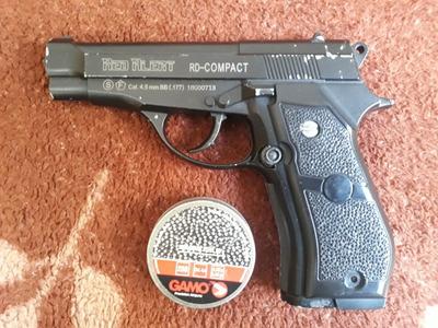Pistola De Pressão Rd Compact Esfera De Aço 4.5