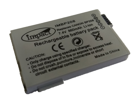 Bateria Para Filmadora Canon Bp-208 7.4v 860mah Li-on